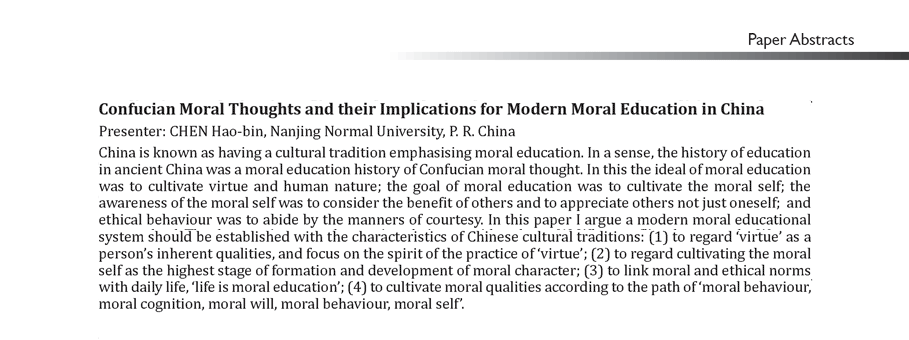 Human nature philosophy essay on morality